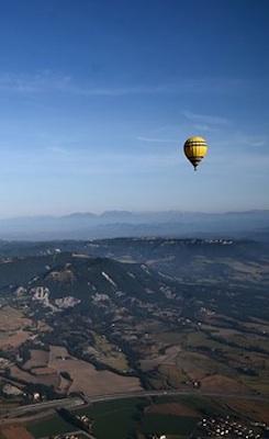 Barcelona Villa rent Aircat balooning