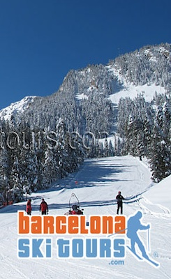 barcelona villa rent ski tours