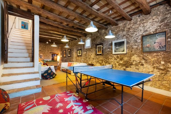 Large Barcelona Villa Games Room
