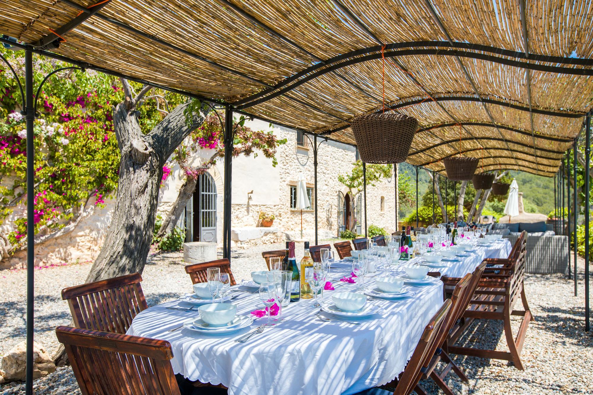 Large Barcelona Villa for rent Can Marcer