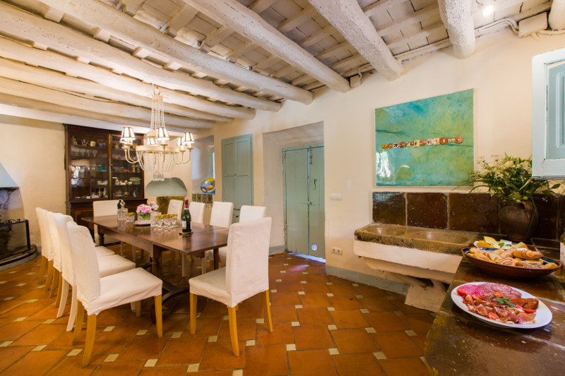 Corporate retreat barcelona break away dining room small