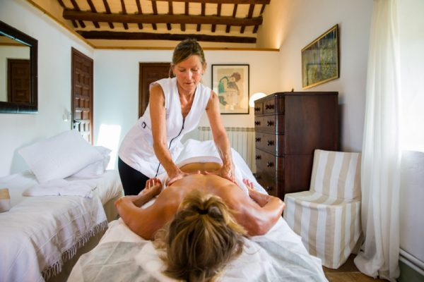 Corporate retreat barcelona massage