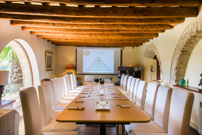 Corporate retreat barcelona meeting spaces small