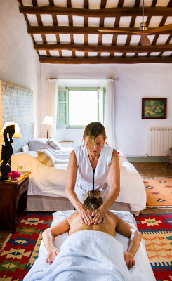 large barcelona villa rent massage