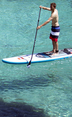large barcelona villa rent paddle board